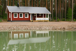 Pine woods cottage